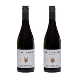 Image of   2 flasker Hayworth Vineyards Shiraz/Cabernet Sauvignon