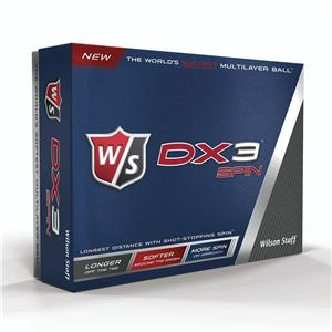 Image of   1 dusin Wilson Staff DX3 Soft golfbolde